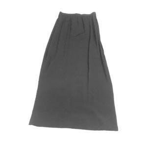 Vintage chiffon formal long skirt